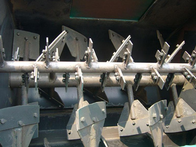 agravic twin-shaft paddle dry mortar mixer