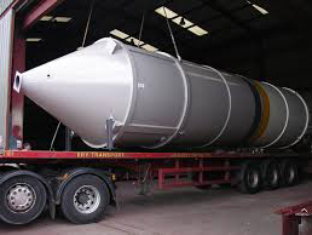 welded cement silo