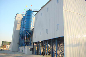 dry mixed mortar producing line