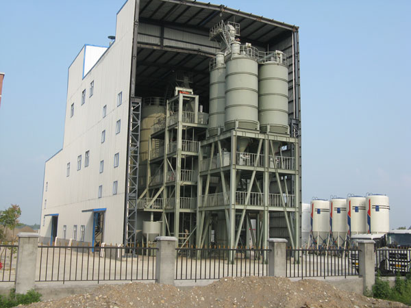 dry mortar mix plant manufacturer