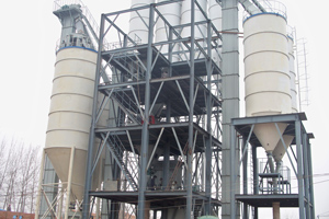 dry mortar mixing production plants