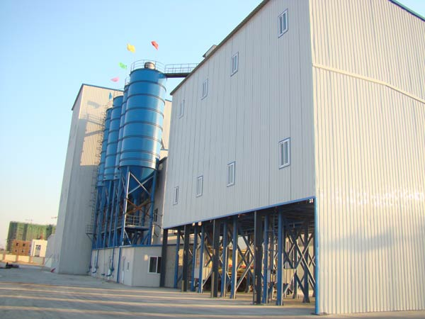 dry mortar producing line
