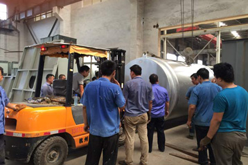 dry mortar production plant delivery