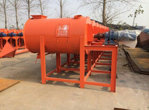 horizontal spiral mortar mixers