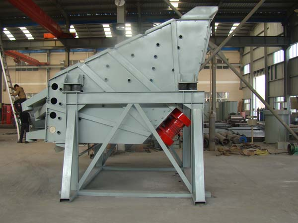 large particle vibrating screen