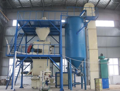 Mini Simple Dry Mix Mortar Production Line