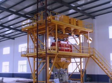 Small Dry Mortar Plant