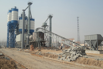 dry mix mortar production plants