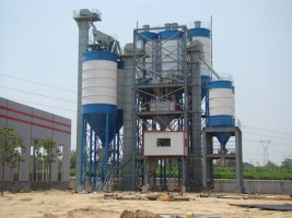 dry mortar production plant