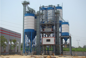 dry mortar production plants