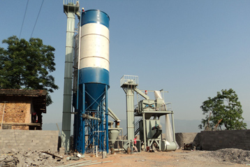 small dry mortar producing lines