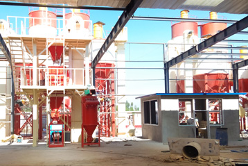 Thailand dry mix mortar plant installation