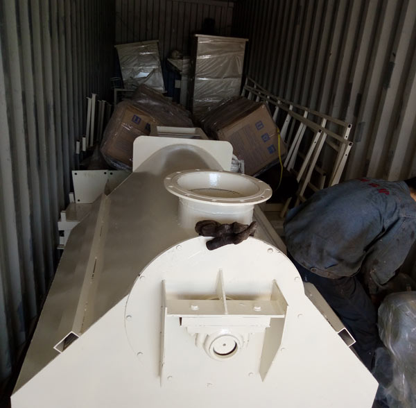 Thailand dry mortar production line delivery