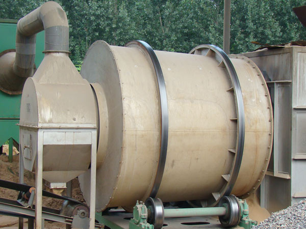 sand drying equipment of dry-mix mortar production line