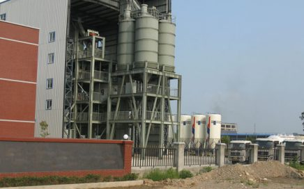 tower type dry mixed mortar production line