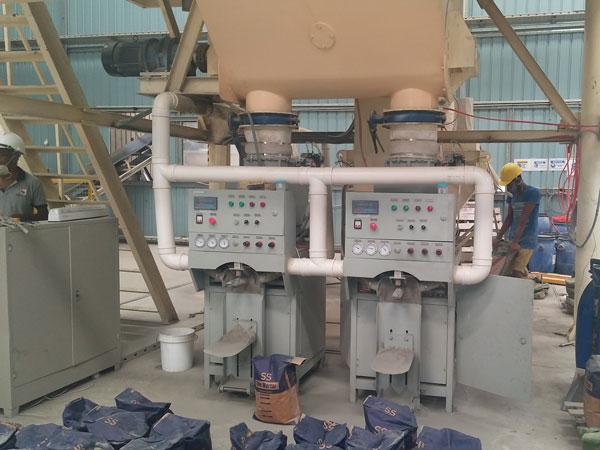 Aimix 10t dry mortar plant in Sri Lanka 2