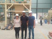 Aimix 10t dry mortar plant in Sri Lanka 4